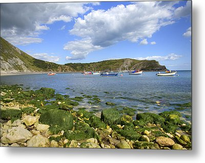 Metal Print featuring the photograph The Beauty Of Lulworth Cove by Ian Middleton