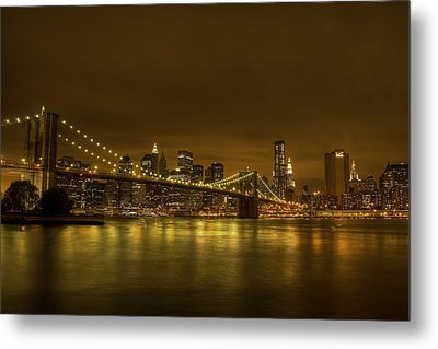 The Beauty Of Manhattan Metal Print by Andreas Freund