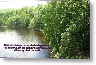 The Beauty Of Nature Metal Print by John Lavernoich