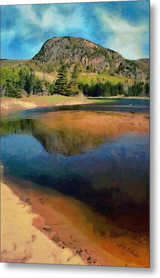 Metal Print featuring the painting The Beehive by Jeff Kolker