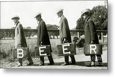 The Beer Boys Metal Print