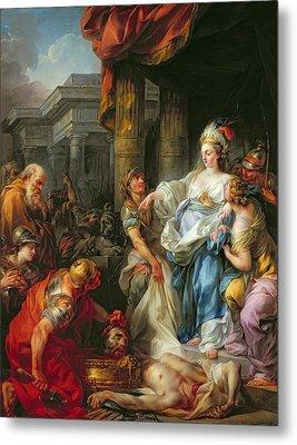 The Beheading Of Cyrus IIi Metal Print