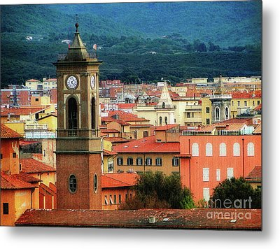The Bell Tower Metal Print by Sue Melvin