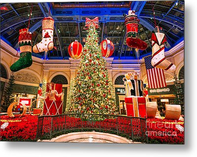 The Bellagio Christmas Tree 2015 Metal Print