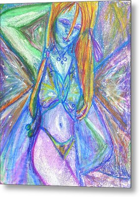 The Belly Dancer Metal Print by Sarah Crumpler
