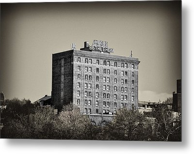 The Bethlehem Hotel Metal Print by Bill Cannon