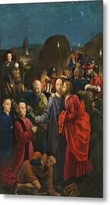 The Betrayal And Arrest Of Christ Metal Print
