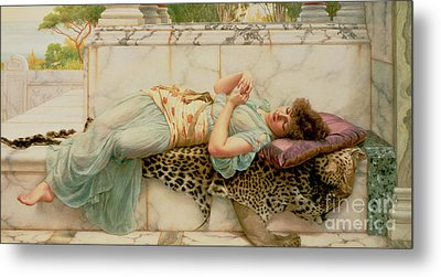 The Betrothed Metal Print by John William Godward