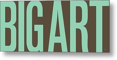 The Big Art - Pure Emerald On Cotton Metal Print