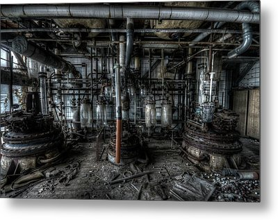 The Big Experiment  Metal Print by Nathan Wright