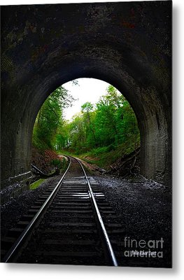 The Big Tunnel Metal Print