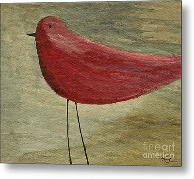 The Bird - Original Metal Print by Variance Collections