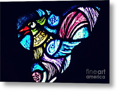 The Bird In The Window Metal Print by Sarah Loft