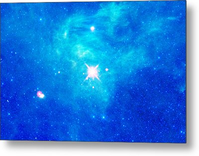 The Birth Of Stars In The Constellation Camelopardalis Metal Print