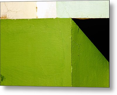 The Black Triangle Metal Print