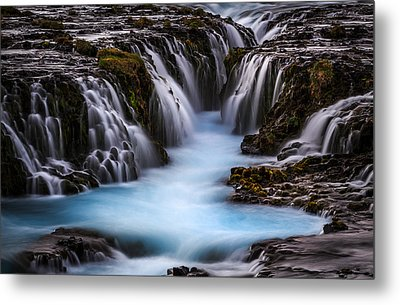 The Blue Beauty Metal Print by Sus Bogaerts