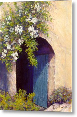 The Blue Door Metal Print by Tanja Ware