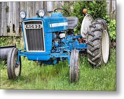 The Blue Ford Metal Print by JC Findley