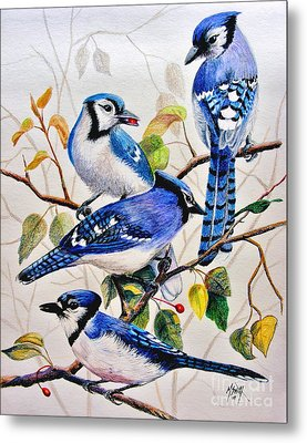 The Blues Metal Print by Marilyn Smith