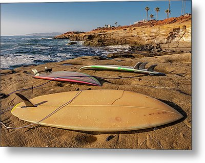 The Boards Metal Print by Peter Tellone