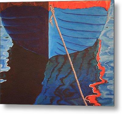 The Boat Metal Print by Jennifer Lynch