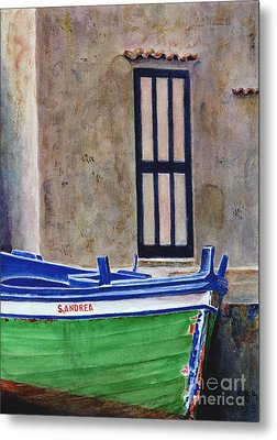 The Boat Metal Print