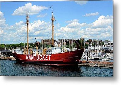 The Lightship Nantucket Metal Print