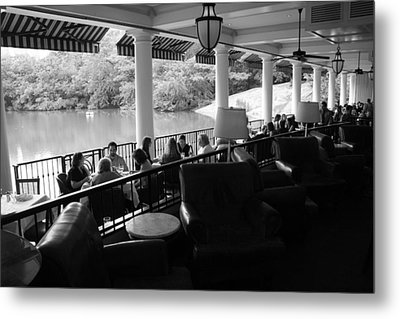 The Boathouse Central Park Metal Print