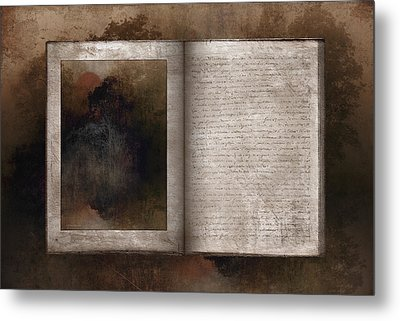 The Book Of Life Metal Print by Ron Jones