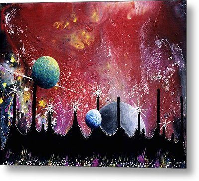 The Border Of Orion Metal Print by Lee Pantas