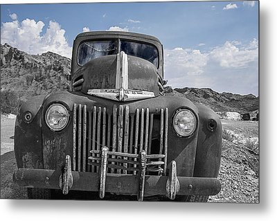 The Boss Metal Print by Annette Berglund