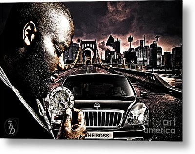 The Boss Metal Print by The DigArtisT