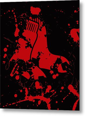 The Boston Red Sox 1b Metal Print