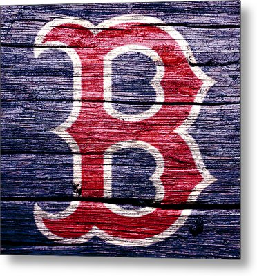 The Boston Red Sox 2b Metal Print by Brian Reaves