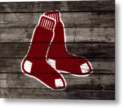 The Boston Red Sox W6   Metal Print