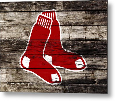 The Boston Red Sox W9   Metal Print by Brian Reaves