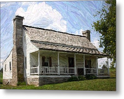 The Bottom House  - Perryville Ky Metal Print by Thia Stover