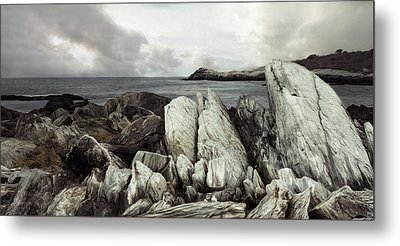 Metal Print featuring the photograph The Boulder Breach by Robin-lee Vieira