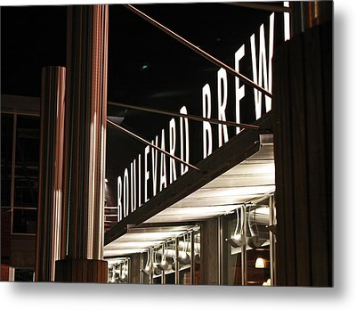 The Boulevard Deck Metal Print