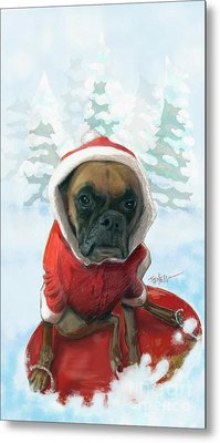 The Heavy Weight Boxer...  Metal Print by Mark Tonelli