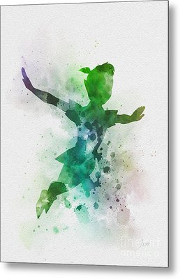 The Boy Who Could Fly Metal Print