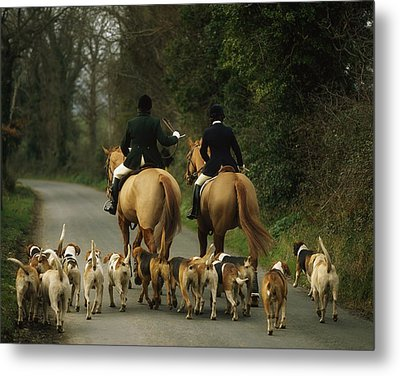The Bray Harriers, Co Wicklow, Ireland Metal Print