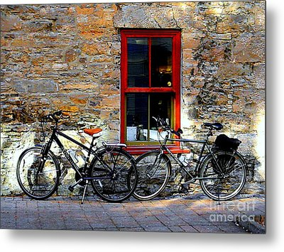 Metal Print featuring the photograph The Break by Elfriede Fulda