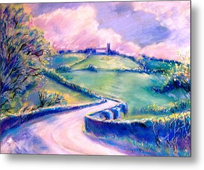 The Bridge Below Hacketstown  Metal Print by Trudi Doyle