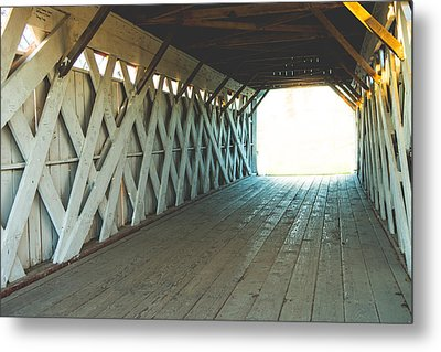 The Bridge To Somewhere Metal Print by Kenny Halstead
