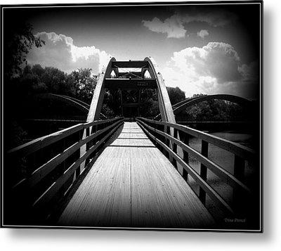 The Bridge Metal Print by Trina Prenzi