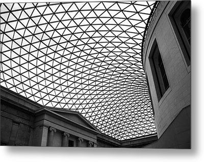 The British Museum Metal Print by Martin Newman