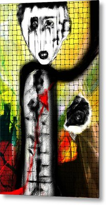 The Broken Heart Metal Print