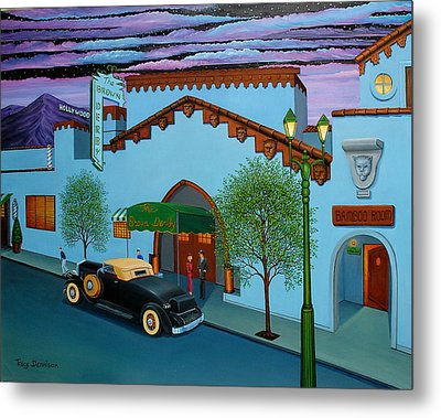 The Brown Derby Metal Print