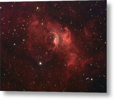 The Bubble Nebula Metal Print by Charles Warren